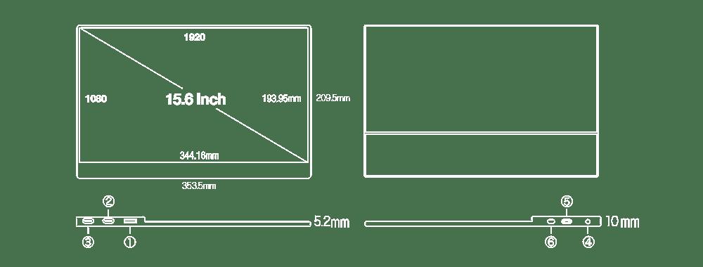UQ-PM15FHDNTポート説明