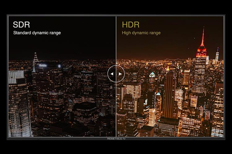 SDR・HDRイメージ